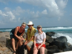 Heather, Chris and Meg